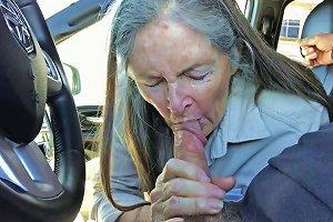 Grandma Sucks In The Car Free Tube Grandma Hd Porn C6